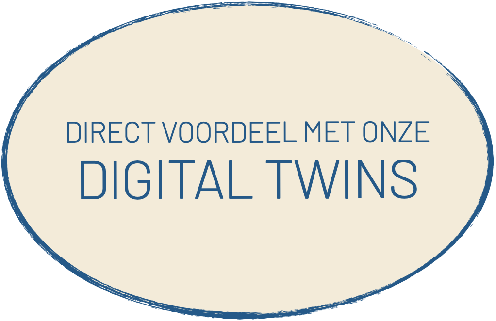 Digital Twins geven direct voordeel.