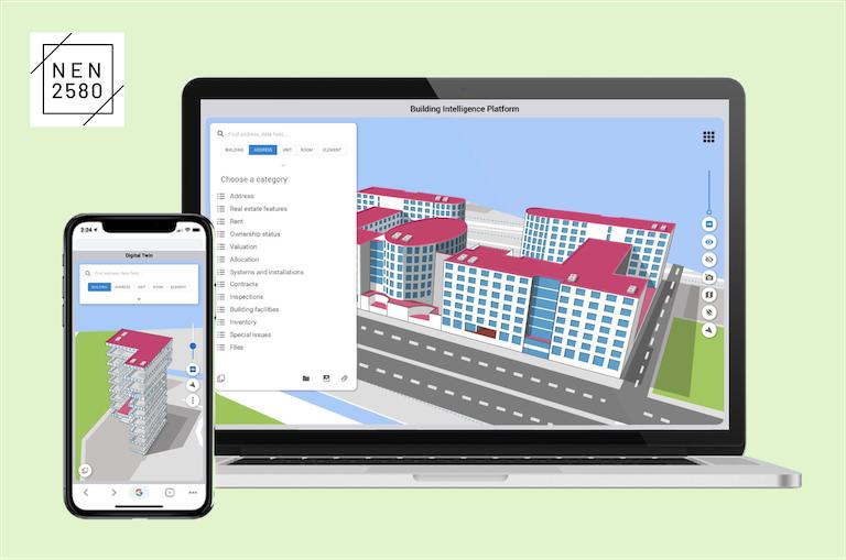 Breng je gebouwen tot leven met Digital Twins van Bryder.